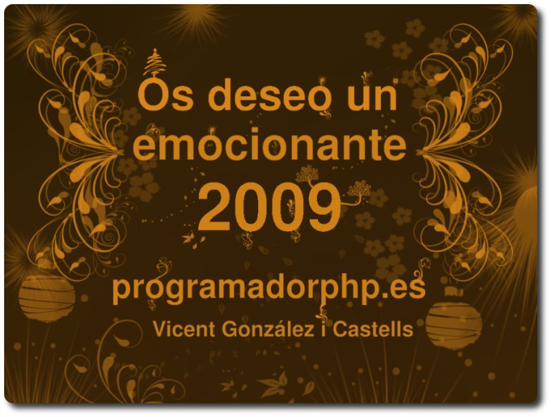 felicitacion 2009